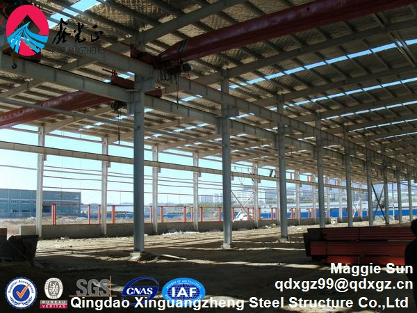 Prefabricated Large Span Steel Structure Warehouse