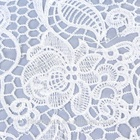 Cheap chemical lace fabric 100% Polyester Embroidery Lace Trim in Shantou factory