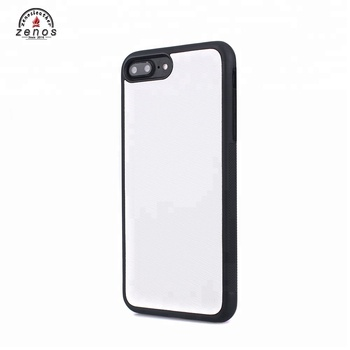 OEM Design White Cell Phone Saffiano Leather Cover for iPhone 8/8plus/X