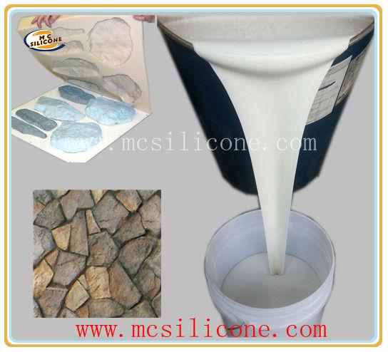 Molde piedra artificial que hace el caucho de silicona rtv caucho de silicona identificaci n del - Moldes piedra artificial ...