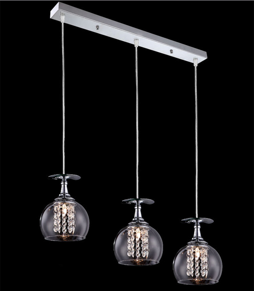 Wholesale factory price glass pendant light crystal hanging lights