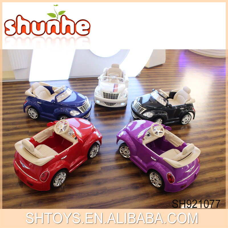 Newest Item! Cool Design Double Motor Rechargeable Battery 2.4 G Baby Remote Control Ride On Car With TF Card