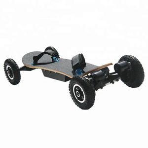 china import electric skateboard off road electric roller skates with 2600mAh LG battery