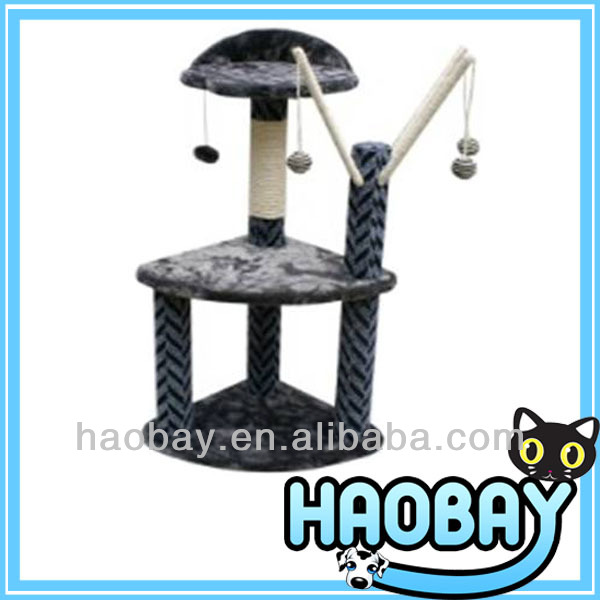 Cat Play Toy Decorative Cat Tree Kitten Activity Tower Cat Furniture