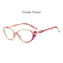 Овальные очки для чтения из смолы кошачий глаз, ретро женские легкие очки для дальнозоркости + 1,0 1,5 2,0 2,5 3,0 очки для дальнозоркости(Китай)