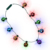 LED Christmas Holiday Celebration Jingle Bell Necklace for Kids and Adults Great Party
