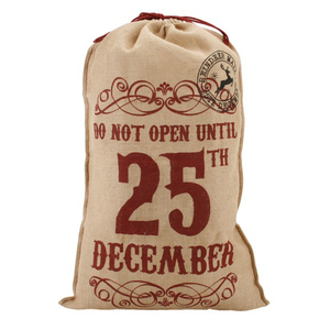 large christmas burlap sack jute bags for coffee beans jute drawstring burlap bags wholesale