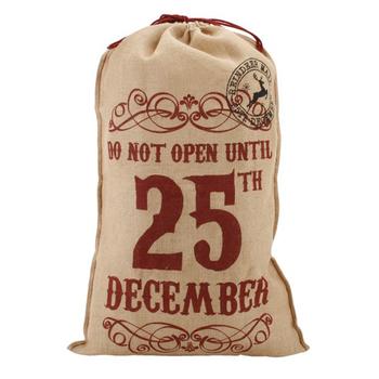 grande de la navidad bolsa de arpillera de yute bolsas de granos de caf bolsas de