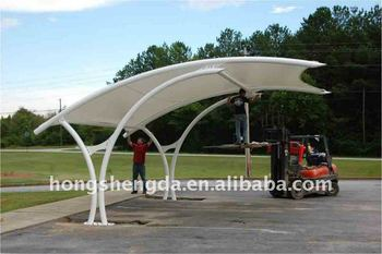 Pvc car shed / car shelter in steel structure & Pvc Car Shed / Car Shelter In Steel Structure - Buy Pvc Car Shed ...