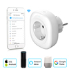 Mini Wifi Smart Socket EU Power Plug Mobile APP Remote Control USB Output Works with Amazon Alexa Google Home
