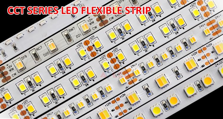 CCT 120leds/m 2835 ip20 ip65 ip68 12v 24v high density led strip smd with CE RoHS UL approve