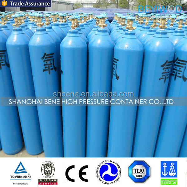 New refillable oxygen bottles steel medical oxygen cylinder by china manufacturer