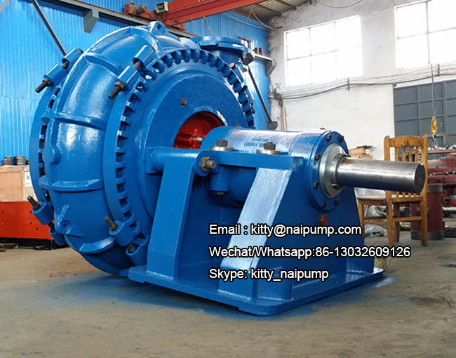 300WS 12 inch Large Flow High Wear Resistant Sand Dredging Pump