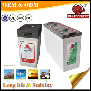 BPL2-3000 solar system battery 2V 3000AH Top AGM Solar Wind Power Storage Battery