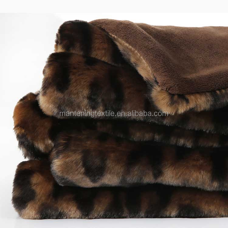 factory directly wholesale anti cream top quality rabbit fur blanket