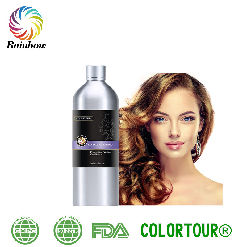 COLORTOUR naturel organique shampooing marques types de emballage pour shampooing antipelliculaire shampooing