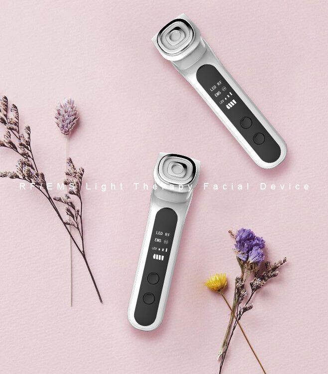 Neue produkt ideen 2019 hautpflege maschine led licht schönheit maschine radio frequenz anti aging gerät ems gesicht massage