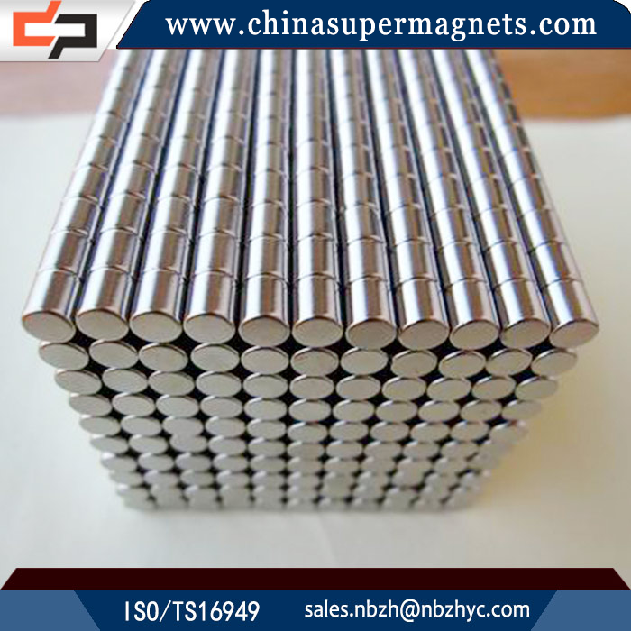 Strong permanent Customized Industrial cylinder neodymium magnet safety