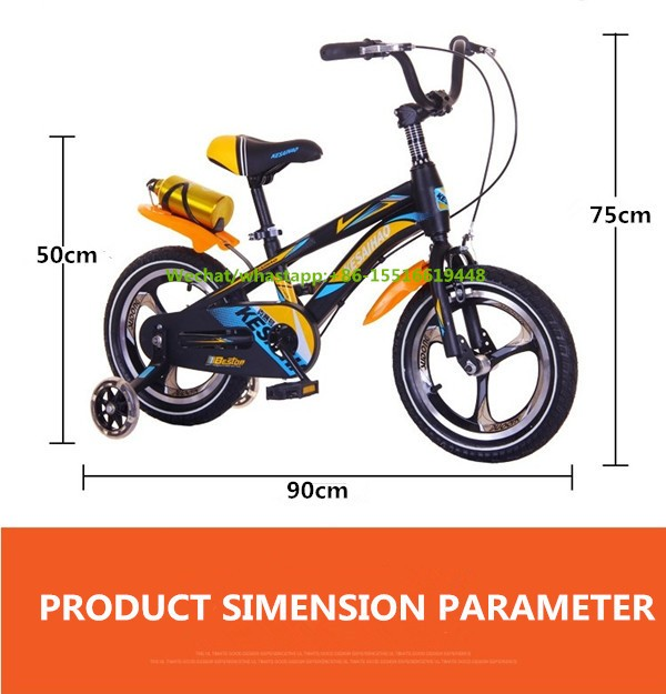 Russia Market Children Bike Foot Brake Alloy Frame Kids Bikes With