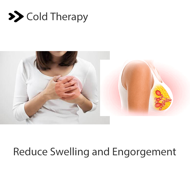 Gel Reusable Hot Breast Cooling Padhair Milk Ice Gel Pearl Pack Clay Night Nursing Therapy Pack Breast Nipple Cold Pads