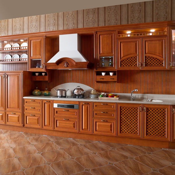 Unfinished Wood Kitchen Cabinets: Birçok Çinli Masif Ağaç Dolabı Toptancıdan Toptan Fiyatına
