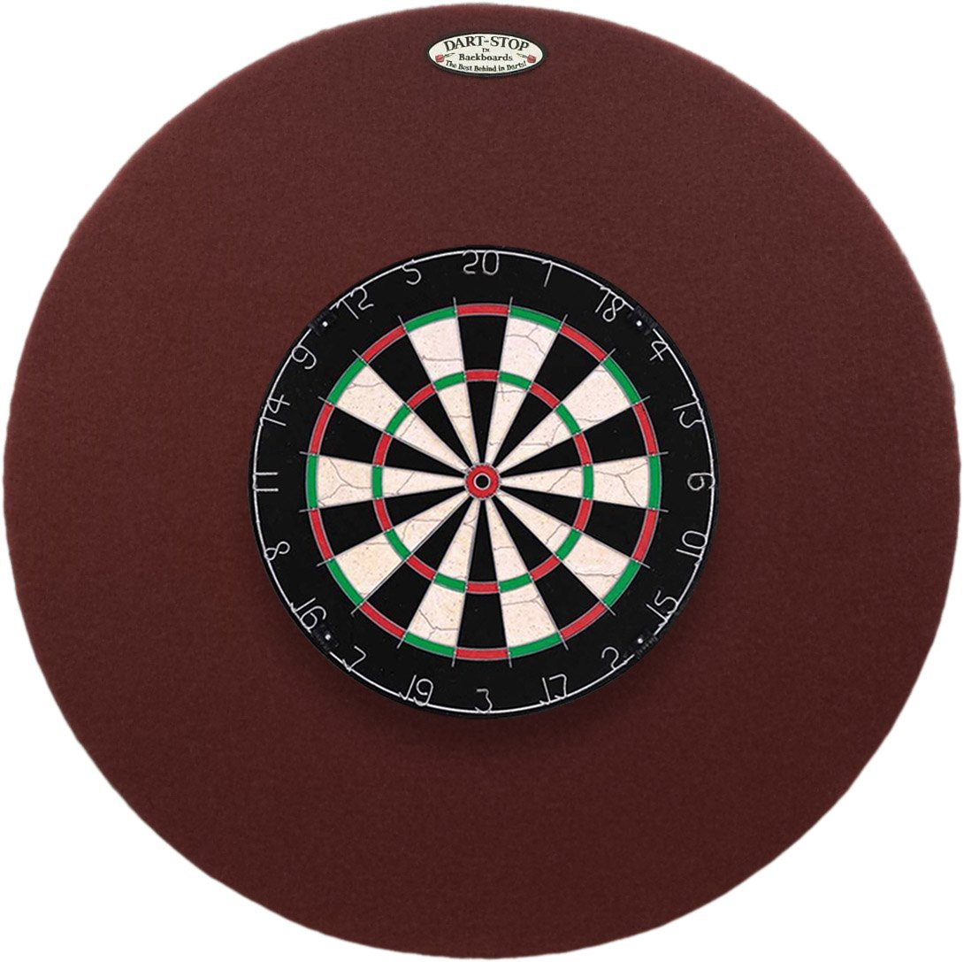 "36"" Professional Dartboard Backboard, Round"