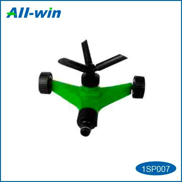 high-quality three-arm rotating garden sprinkler