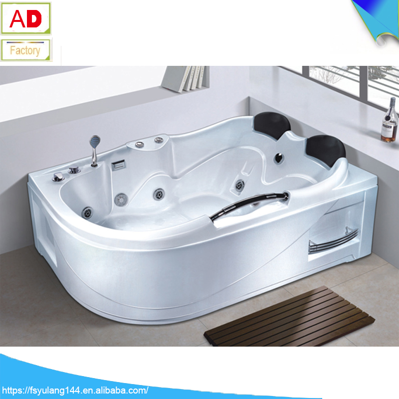 AD 1737 Foshan Sanitary Ware Bathtub Heater Whirlpool 2 Person Skirt Hot  Tub Price Garden