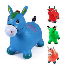 Top sale inflatable pvc animal hopper toys