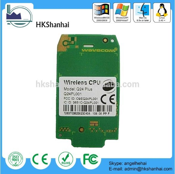 Hot offer cheap Q24PL001 wireless GSM GPRS wavecom Q24plus module