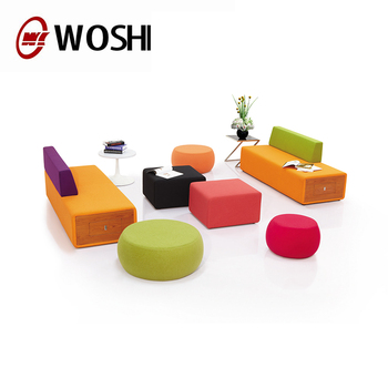 Office Furniture Colorful Modern Lobby