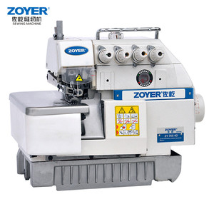 ZY766-4D Zoyer jack siruba 4 thread direct drive sewing machine overlock