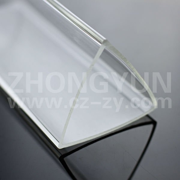 Different sizes triangular pipe