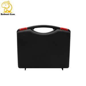 Injection mould portable protective hard PP plastic tool carrying storage box case with handle
