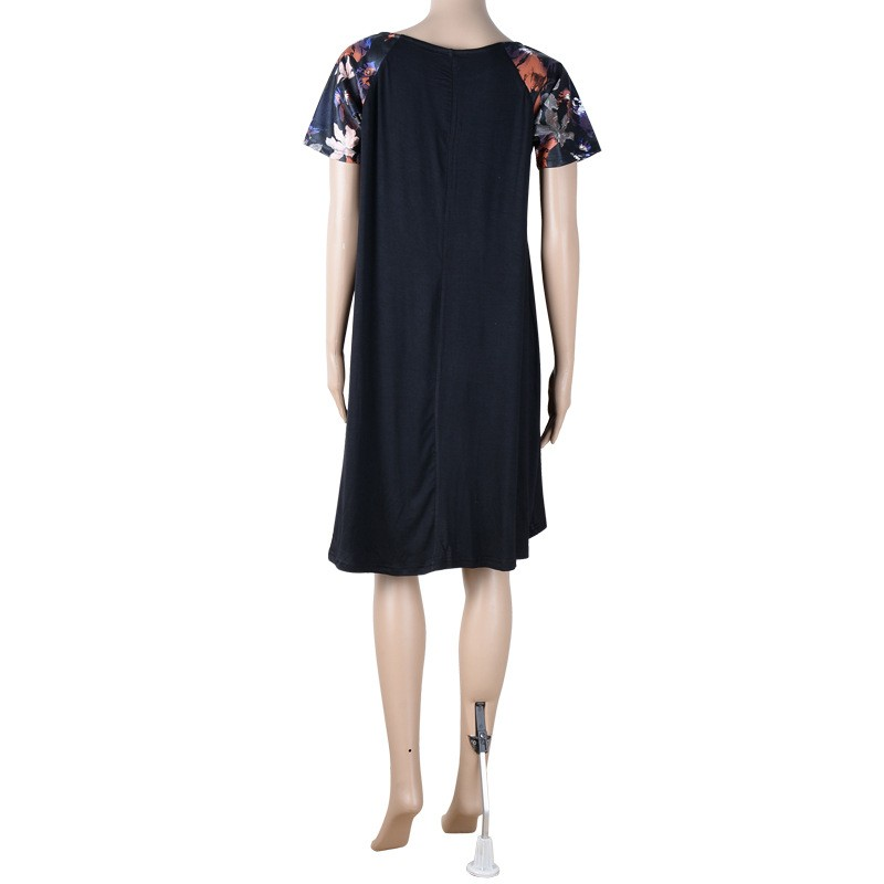 95cc465a9d4 Robe décontractée pour les grosses femmes grande taille mode robe 2018  femmes vêtements