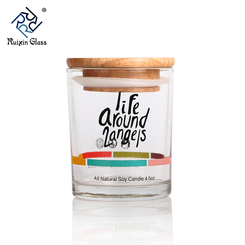 CJ162 Newest Fashion Empty Glass Candle Jar For Candle Making