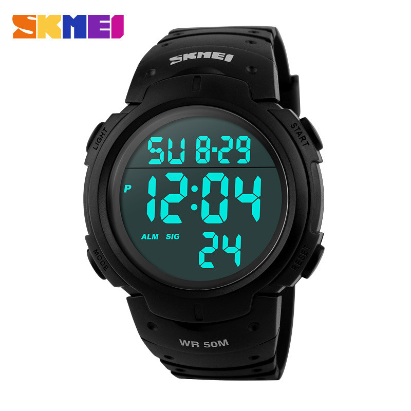 2015 Skmei New Sports Watches Men Shock Resist Army Military Watch LED Digital Watch Relojes Men Wristwatches Relogio Masculino
