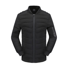 Senza cappuccio accettare il piccolo ordine <span class=keywords><strong>giacca</strong></span> imbottita <span class=keywords><strong>magazzino</strong></span> mens down jacket