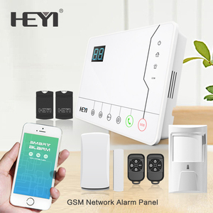 Home House Security & Protection Product GSM Wireless Intruder Alarm Systems