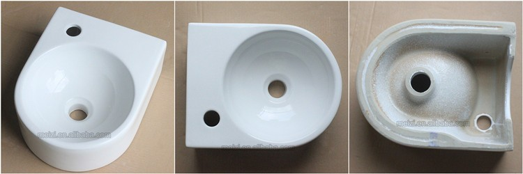 Bathroom design color marble washbasin