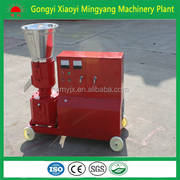 Factory supply and sell directly CE approved kl150 series roller and 6mm die wood pellet mill machine008613838391770