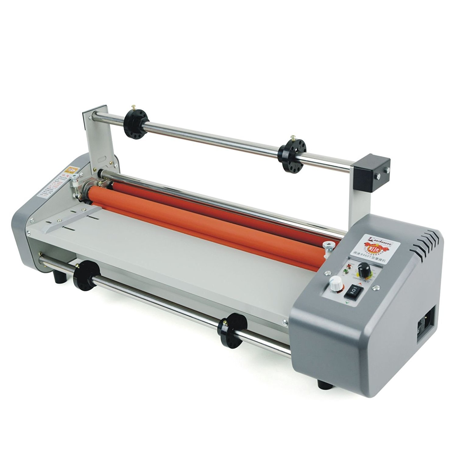 """Welljoin NEW 17.5"""" Laminator Four Rollers Roll Laminating Machine Hottest8460T"""
