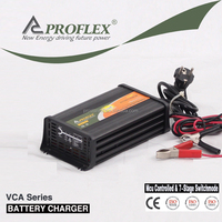 Electric Type Gel Sealed lead acid and Open lead acid battery charger AGM Use 7 stage 12V 10A Battery Charger