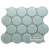 2014 New Trend Frosted Tile Round Mosaic Medallion Floor Patterns