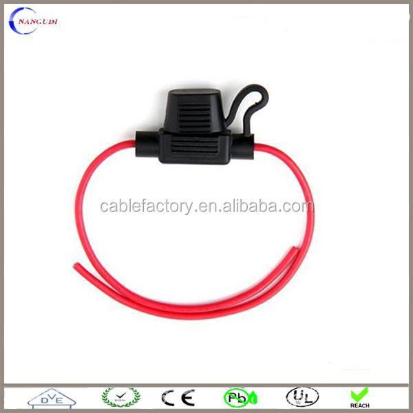 small size plug fuse holder for vehicle car auto fuse box