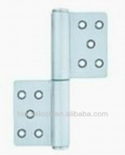 stainless steel fire proof Flag pattern hinge for steel and wooden doors