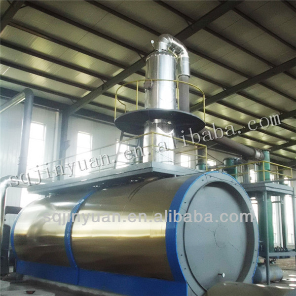 Environment Friendly Waste Motor Oil/ Crude Oil Recycling Equipment Machine
