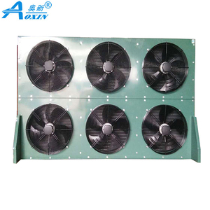 Aluminum Fin and Copper Tube Air Cooler Heat Exchanger Oil Condenser for Sale