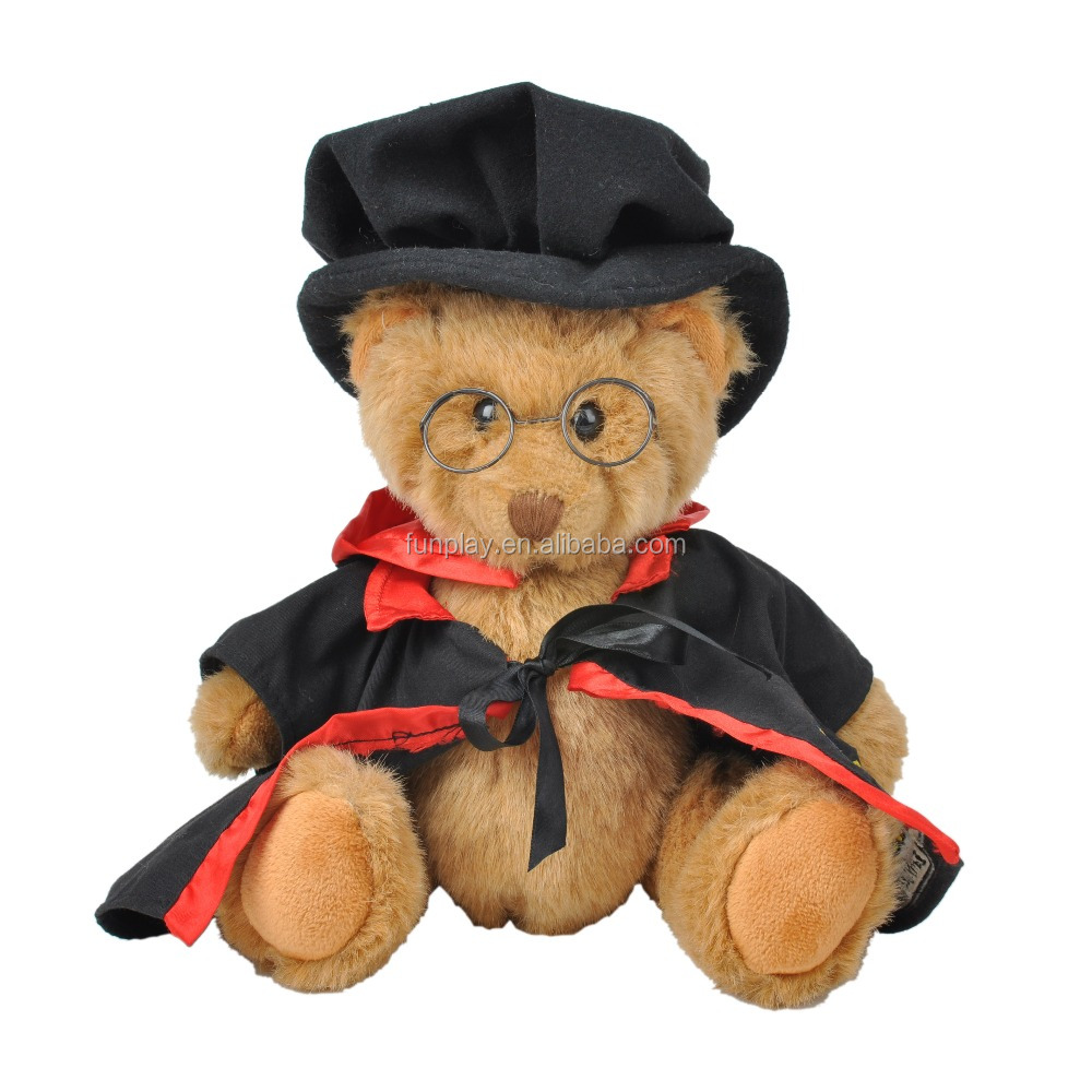 HI CE/ASTM safety cheap graduation teddy bear plush toys