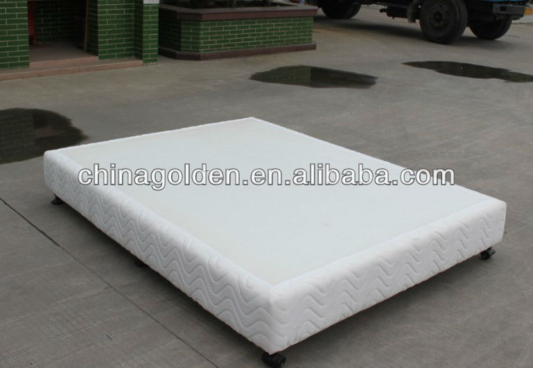 New Style Solid Wood Box Spring Bed Base